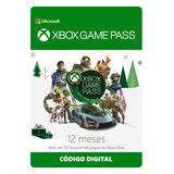 Xbox Game Pass 12 Meses Código Digital Oficial Brasil
