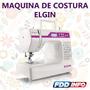 Máquina De Costura Elgin Premium Bivolt Portátil