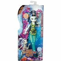 Monster High Frankie Stein A Assustadora Barreira De Corais