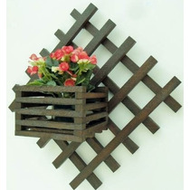 Floreira Vertical Treliça, Ideal Para Casas E Aptos