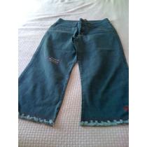 Calça Jeans Capri Tropical Brasil - Nova Com Etiqueta