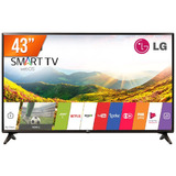 Smart Tv Led 43'' Full Hd Lg Pro 43lj551c 2 Hdmi Usb Wi-fi