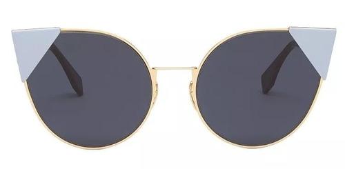 eee5cf4a23b2a Óculos De Sol Feminino Fendi Lei Ff 0190 Original - R  1290 en ...