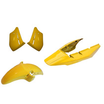 Carenagem Cbx 250 Twister Amarelo 2007/2008 Kit Sem Tampa