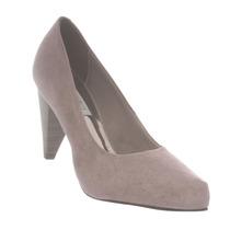 Sapato Scarpin Nobuck Feminino Salto Confortável 1064.400
