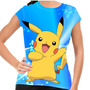 Camiseta Pokemon Pikachu Baby Look
