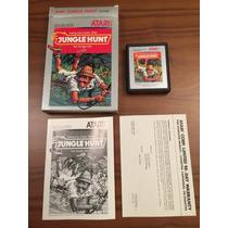Cartucho Jungle Hunt Na Caixa Atari 2600