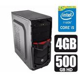 Pc Cpu Computador Intel Core I5 3.10ghz + 500 Hd + 4gb+win 7