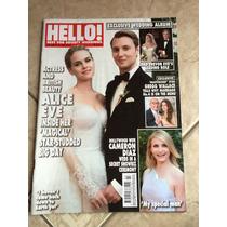 Revista Hello Em Inglês Cameron Diaz Justin Bieber Ano 2015