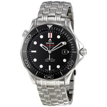 Relogio Omega Seamaster Black Dial Automatic 212.30.41.20.01