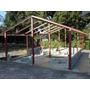 Casa 44m2 - 3 Qtos - Pre-fabricada - Kit Estrutura Em Aço