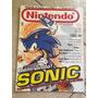 Revista Nintendo 42 Sonic Super Mario 2 Super Smash Bros