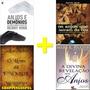 Kit 04 Livros Anjos E Demônios + O Livro De Enoque E Mais Original