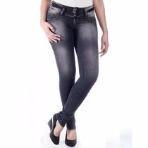 Calça Jeans Sawary Legging Levanta Bumbum Bojos Rem ***