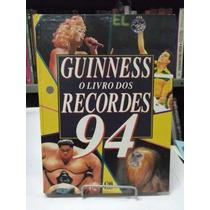 Livro - Guinness - O Livro Dos Recordes 1994 - Frete Grátis