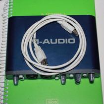 Interface M-audio Usb Fast Track Pro