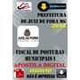 Apostila Prefeitura Juiz Fora Mg Fiscal Postura 1 Mun 2016