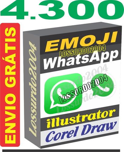 4.300 Arquivos Coleção Emoji Vetores Corel Cdr Ai Png Svg 7effb14b5dbb1