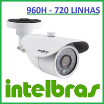 Câmera Intelbras Infra 20mts Vm S3120 960h Superior À S3020
