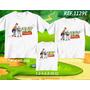 Lembrança De Aniversario Toy Story Camiseta Kit Com 3
