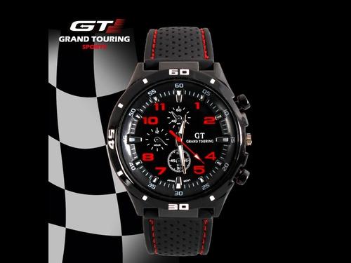 31d39dc3c44 Relógio De Pulso Masculino Barato Esportivo Gt Gran Touring