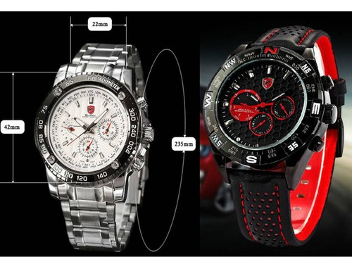 f179e0470b1 Relógio Tubarão Smart-sport Visor Analógico Original