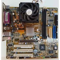 Kit Asus A7v266-mx + Processador Amd Duron 1.6ghz