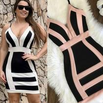 c14413fdd Vestido Malha Crepe Lançamento Festa Primavera   Verão 2019 à venda ...