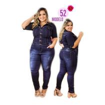 0b44d2ab5733 Busca macacão plu size com os melhores preços do Brasil - CompraMais ...