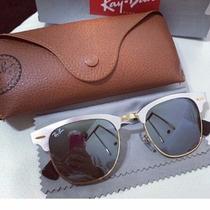 Oculos Ray Ban Clubmaster Aluminium Rb3507 Frete Grátis