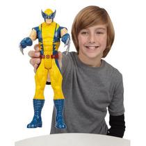 Marvel Avengers Boneco Wolverine 30cm Titan Hero Series
