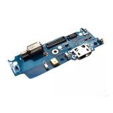 Conector Carga Com Placa De Microfone  Moto E4 Xt1763