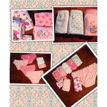 Kit 10 Calcinhas Infantis/ Modelos. Lindas E Confortáveis