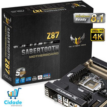 Asus Tuf Sabertooth Z87 Lga 1150 Intel Z87 Hdmi Sata 6gb/s