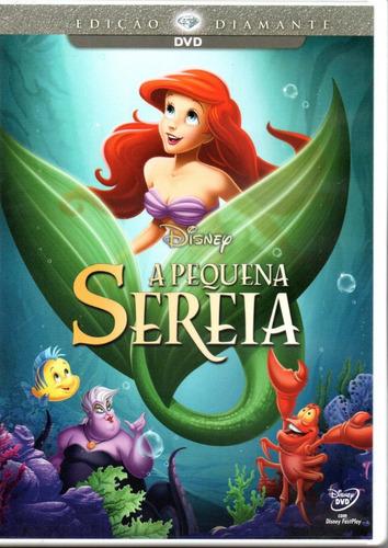 Dvd Disney A Pequena Sereia - Dublado E Legendado