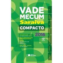 Vade Mecum Saraiva Compacto - Brochura - 15ª Ed. 2016