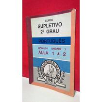 Curso Supletivo 2º Grau Português Aula 1 Á 2 * Frete Grátis