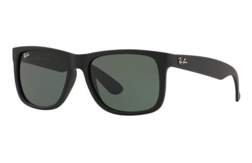 Oculos Sol Ray Ban Justin 4165 622 71 57 Preto Fosco Lt G15 52dbe6708a