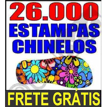 Mais De 3000 Pares De Estampas Para Chinelos + Frete Gratis.