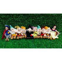 Branca De Neve, Príncipe, Bruxa E Os Sete Anões - Disney