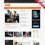 Template Joomla 3.1, 2.5 Responsive Portal De Notícias J571