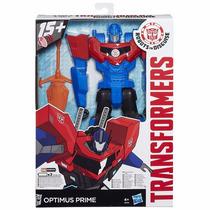 Boneco Novo Transformers Optimus Prime 30 Cm Com Som E App