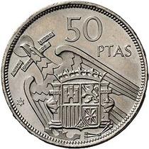 Espanha - 50 Pesetas - 1.957 - Gen. Franco.