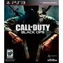 Jogo Call Of Duty Black Ops Playstation 3 Ps3 Cod Mídia Físi Original
