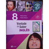 Livro: Vontade De Saber Ingles 8ºano