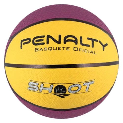 Bola De Basquete Penalty Shoot Nac Vi Roxa E Amarela 6e5f1bb9993b4