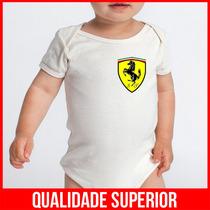 Body Infantil Personalizado Ferrari Roupas Bebe Baratas