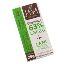 Chocolate 63% Cacau Orgânico Sem Glúten/lactose - Café Minas