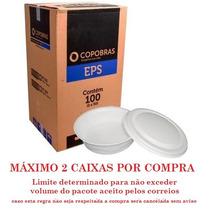 Marmitex Isopor Quentinha N9 1100ml C/tampa Ptq-104 Copobras