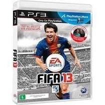 Jogo Fifa 2013 Ps3 Original Semi Novo